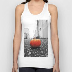 Gritty City pumpkin Unisex Tank Top