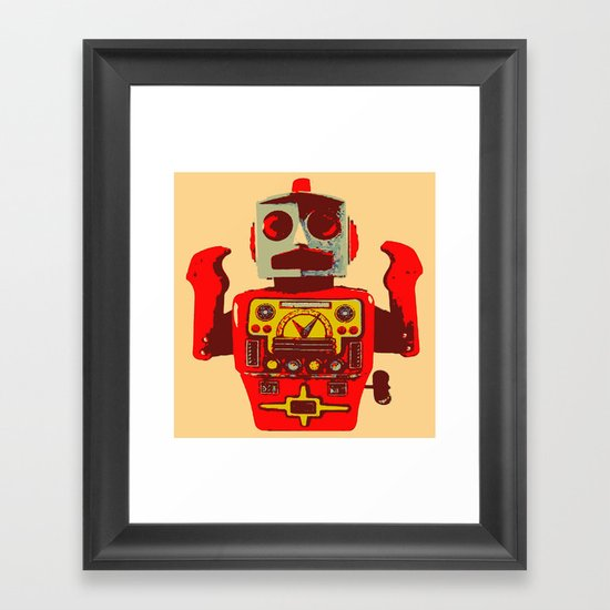 Robot II Framed Art Print