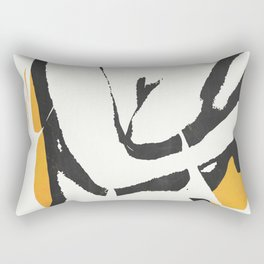 nude woman/ portrait Rectangular Pillow