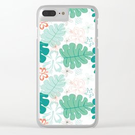 Hawaiian Holidaze Clear iPhone Case