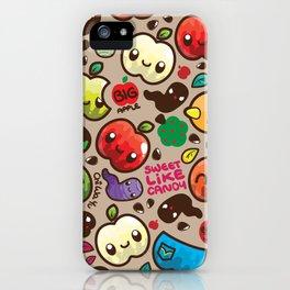 Apple Pattern iPhone Case