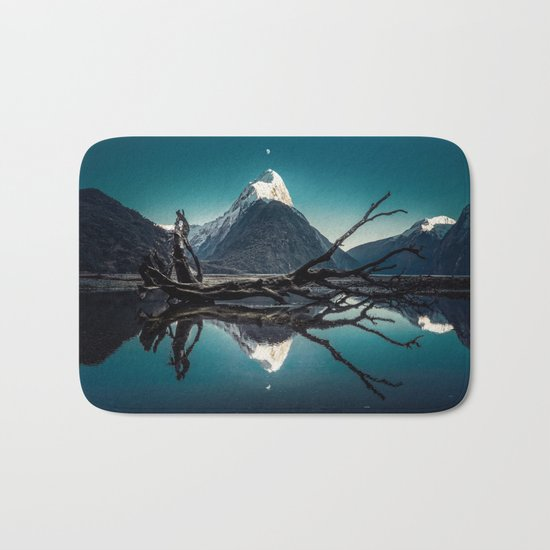 Blue Mountain #landscape Bath Mat