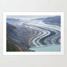 Frozen in time. Art Print