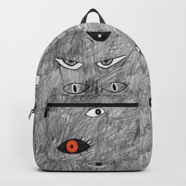 Eyes in the Dark by Chrissy Curtin Backpack