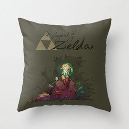 Link! Throw Pillow