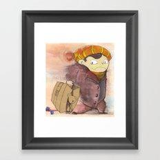 on a journey Framed Art Print