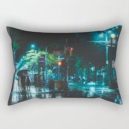 Memphis Scene - Memphis Photo Print Rectangular Pillow