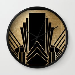 Art deco design Wall Clock