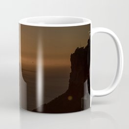 Golden Hour in Santorini Coffee Mug