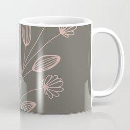 Minimal Flower Floral Coffee Mug