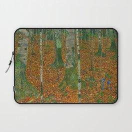 """Gustav Klimt """"Birch Forest (Birkenwald)"""" Laptop Sleeve"""