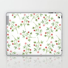 Blossoming branches Laptop & iPad Skin