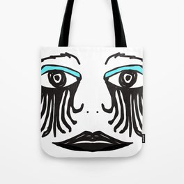 Gothic Face Tote Bag
