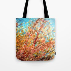 Trippin under a tree Tote Bag