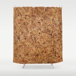 Cork pattern Shower Curtain