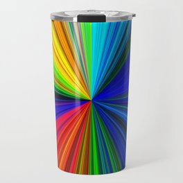 Colours of a Rainbow Travel Mug