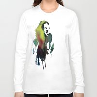 haim Long Sleeve T-shirts featuring Little acrylic HAIM by MGNFQ