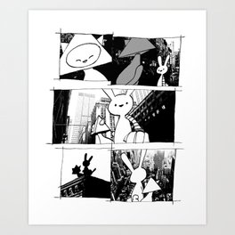 minima - vue Art Print