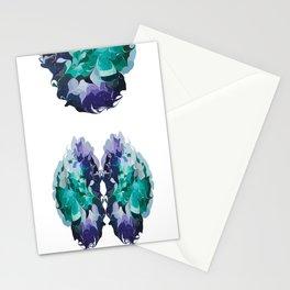 Analogous hues Stationery Cards