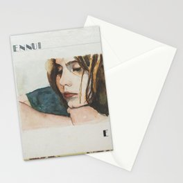 E is for Ennui Stationery Cards
