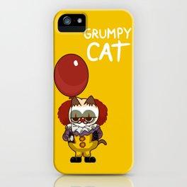 It Cat Clown  Funny iPhone Case