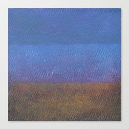 All Blue Sea and Sky Canvas Print