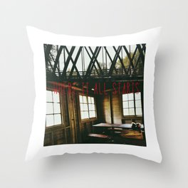 I Think I Found A Place (Where It All Starts) Throw Pillow