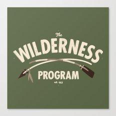 The Wilderness Program Canvas Print