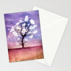 ATMOSPHERIC TREE - Pick me a cloud III Stationery Cards