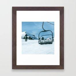 The Slopes Framed Art Print