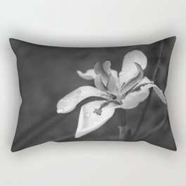 Orchid In Drops Rectangular Pillow