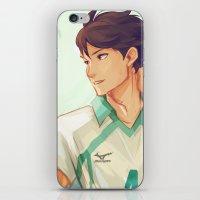 viria iPhone & iPod Skins featuring Oikawa by viria