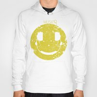 springsteen Hoodies featuring Music Smile V2 by Sitchko Igor