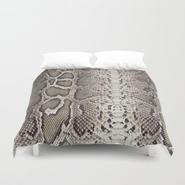 Snake Skin Duvet Cover