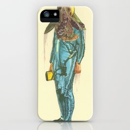 Here a Bone, There a rag  iPhone Case