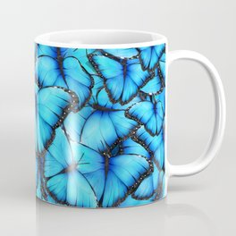 Peace of the Blue Butterfly Coffee Mug
