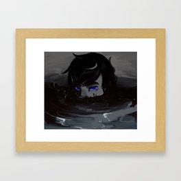 Down Deep Framed Art Print