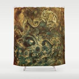 Jupiter's Clouds 2 Shower Curtain