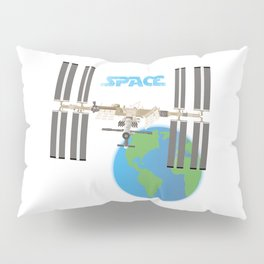 International Space Station Pillow Sham