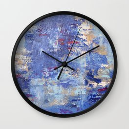 Cloudy Reflections Wall Clock