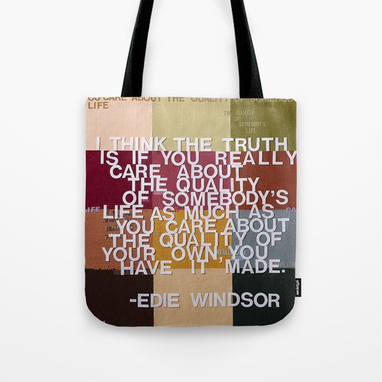 """The Truth Is"" Tote Bag"