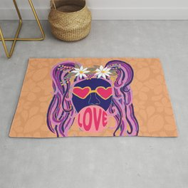 Love Blows Rug