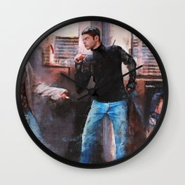 If You Want Blood (empire records) Wall Clock