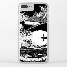 Humanity Clear iPhone Case