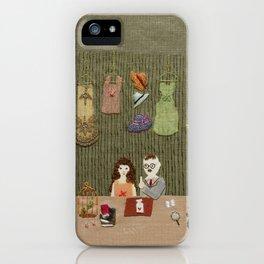 At antique shop iPhone Case