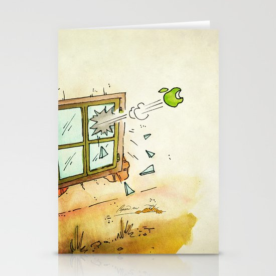 Apple! Stationery Cards