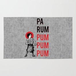 Drummer Boy Pa Rum Pum Pum Pum Rug