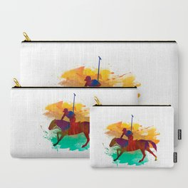 Polo player Carry-All Pouch