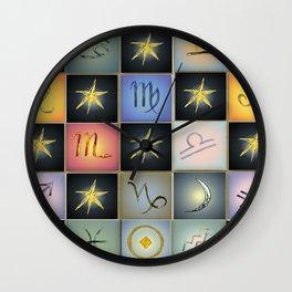 Astrologia Wall Clock