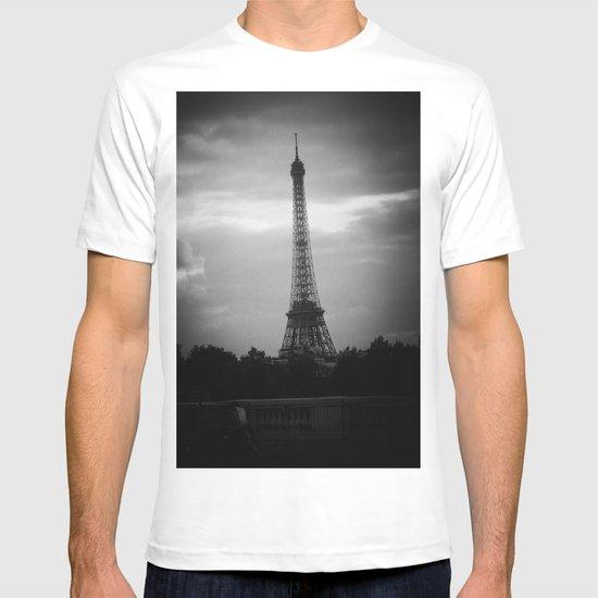 Eiffel Tower After Dark T-shirt